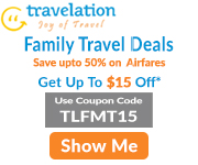 Family Travel Discount! Save Up To 70% + $15 Off.