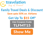 Family Travel Discount! Save Up To 70% + Get $15 Off.