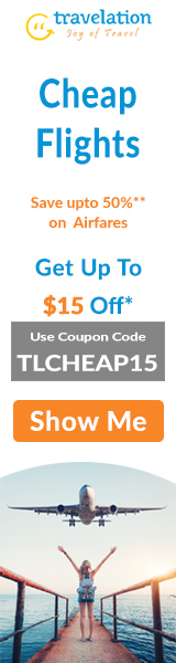 Cheap Flight Sale! Book Now and Get $15 Off. Use Coupon Code TLAIR15.