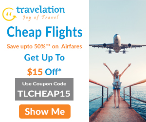 Find here the Best & Cheapest Airfare Flights Tickets with Travelation!