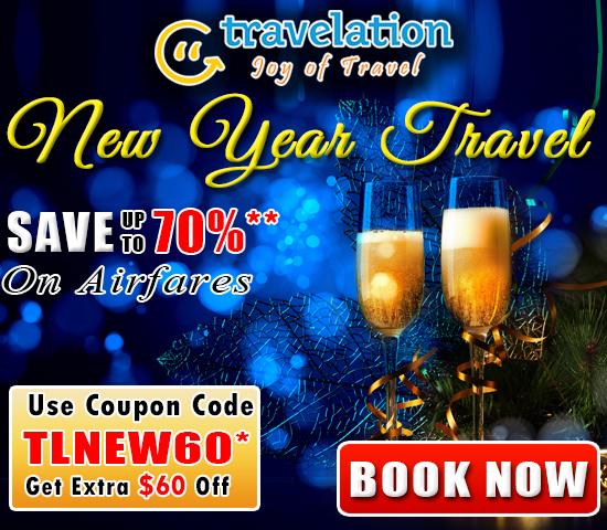 $60 Off New Year Flights Discount