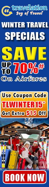 $15 Off Winter Travel Discount Sale