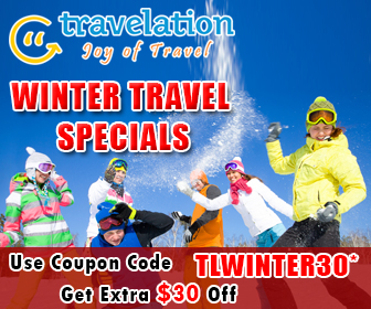 $30* Off on Winter Travel Sale