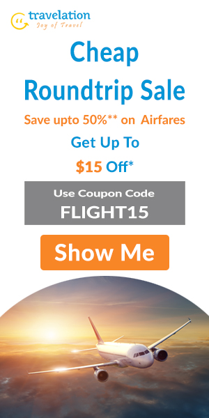 Travelation's Cheap Flight Tickets