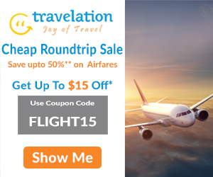 Cheap Round Trip Flight Sale! Book Now & Get Up To $15 Off*. Use Coupon Code FLIGHT15.