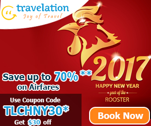 Exclusive Chinese New Year Flight Deals! Get $30 Off with Coupon Code TLCHNY30. Book Now