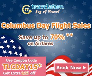 Looking for Columbus Day airfare deals? Check out exclusive Columbus Day Travel deals on Travel and save big on Columbus Day flights.