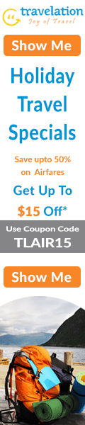 New Year Flight Sale. Book Now and get $15 Off with Coupon Code – TLNEW15.
