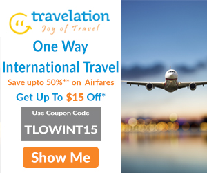 Cheap One Way International Flights. Book Now and Get Flat $15 Off.