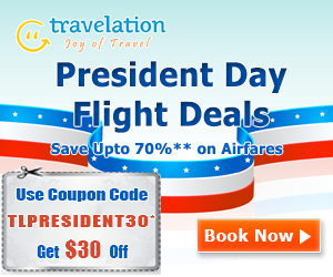 Plan your President's Day weekend escape and book your flights with us now and save huge.