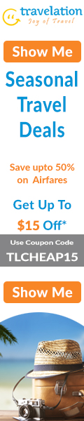 Winter Travel Deals. Book now and Get $15 Off with coupon code TLWINTER15. Hurry!