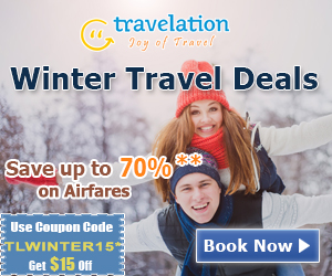Winter Travel Deals. Book Now and get 70% off also take $15 Off with Coupon Code ��� TLWINTER15.