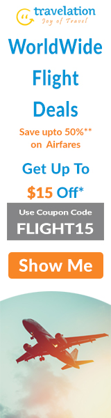 Book Cheap Flights to Worldwide Destinations! Book Now and Get $15 Off. Use Coupon Code FLYTL15.
