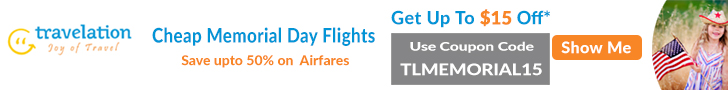 Memorial Day flight deals. Book now & get up to $15 off* with coupon code - TLMEMORIAL15.